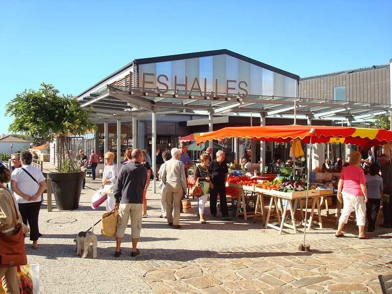Le marché de Brétignolles sur Mer